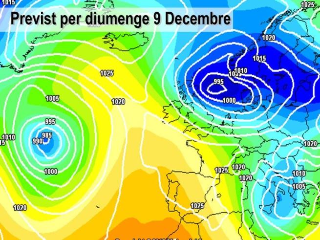 El cap de setmana l'oratge serà estable, encara que fred de nit. L'anticicló afectarà la península.