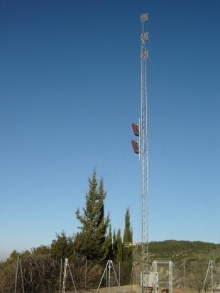 """Antena repetidor de """"La Horteta"""""""