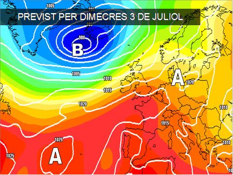 La propera setmana tindrem els primers calors més rigurosos de l'estiu.